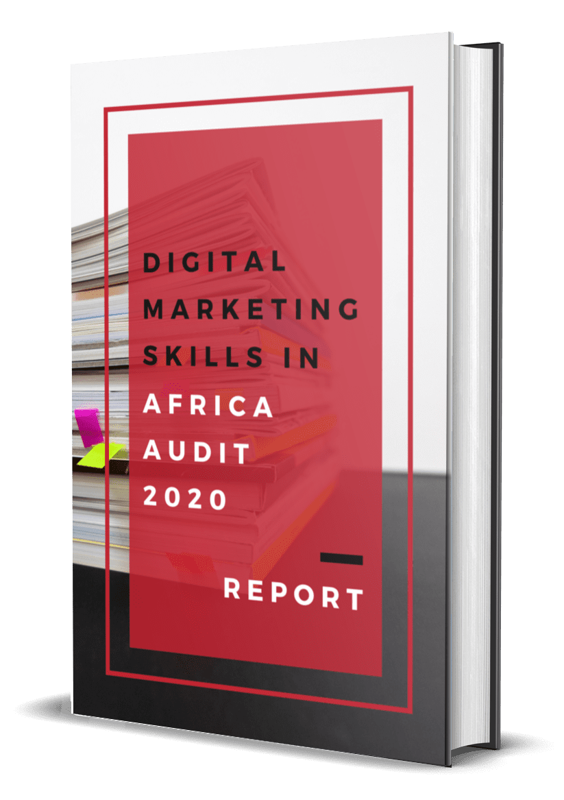 eNitiate Digital Marketing Skills in Africa Audit 2020 Report | eBook Cover | 22 March